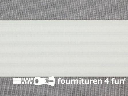 Rimpel elastiek - pyjama elastiek - 50mm wit