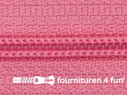 Niet deelbare nylon rits 3mm barbie roze