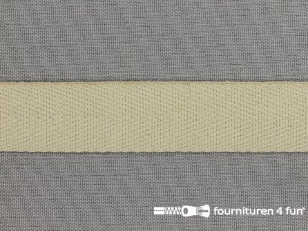 Rol 50 meter Luxe keperband 20mm zand beige