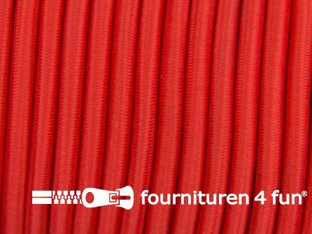 Elastisch koord 4,5mm rood