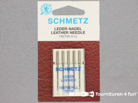 Schmetz machine naalden - leder 70