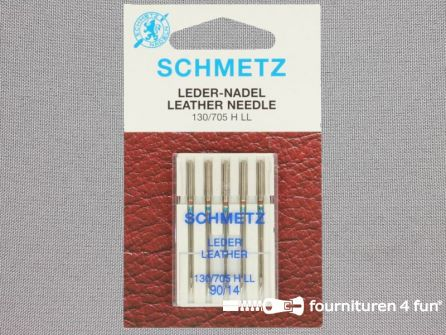 Schmetz machine naalden - leder 90