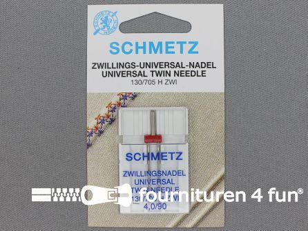 Schmetz machine naalden - universeel dubbel 90-4.0