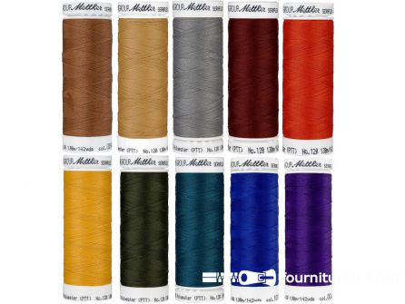 Seraflex - elastisch naaigaren - herfstkleuren - 10 klossen