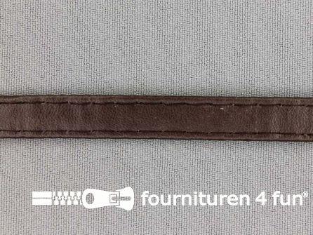 Skai tassenband 10mm donker bruin