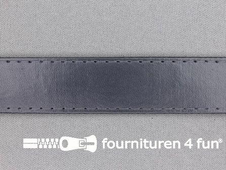 Skai tassenband 25mm donker grijs