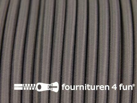 Elastisch koord 4,5mm staal grijs