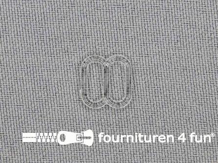 5 Stuks kunststof verstel schuifje transparant 8mm
