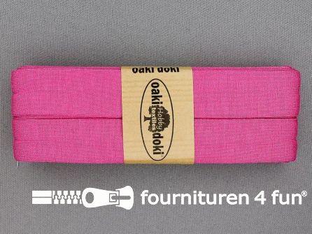 Tricot biaisband 20mm x 3 meter barbie roze