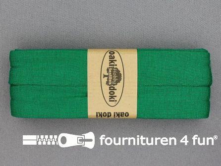 Tricot biaisband 20mm x 3 meter emerald groen