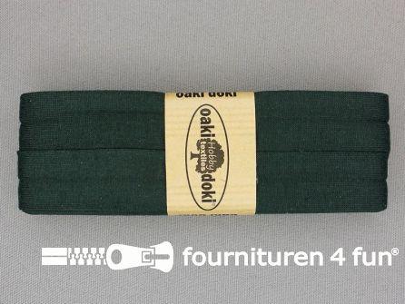 Tricot biaisband 20mm x 3 meter flessen groen (928)