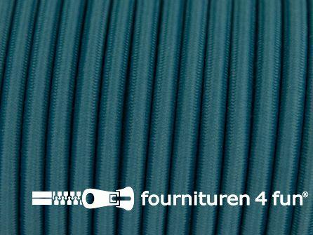 Elastisch koord 4,5mm donker turquoise