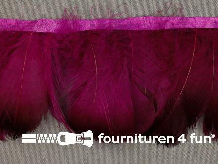 Verenband 90mm donker fuchsia roze