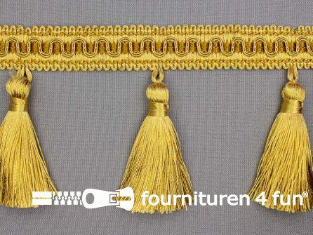 Viscose franje 95mm kwasten goud
