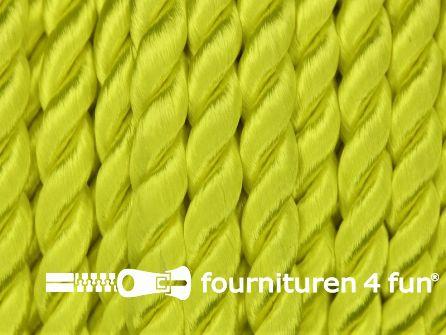 Viscose meubel koord 6mm neon geel