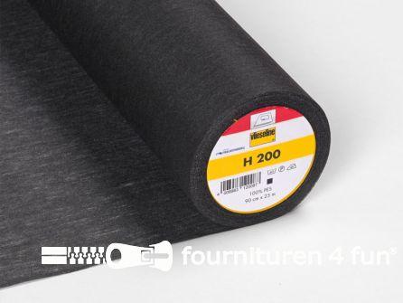 COUPON 100x90cm Vlieseline® Softline H200 zwart