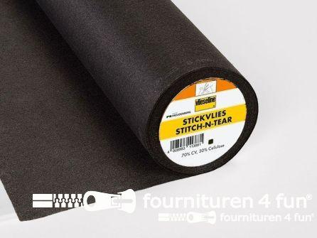 Vlieseline® Stik & Trek / rol 45cm x 25 meter zwart