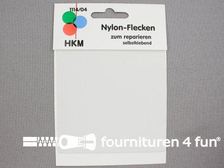 Zelfklevend nylon reparatiedoek 10x20cm wit