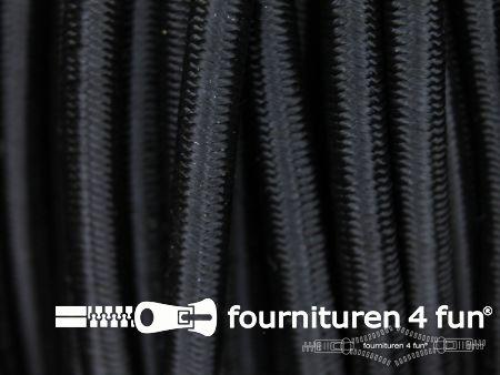 Elastisch koord 6mm zwart
