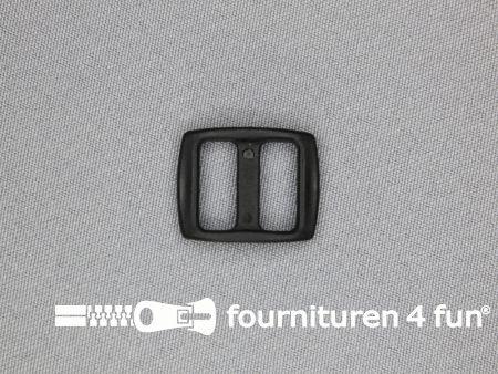 Schuifgesp 10mm zwart kunststof