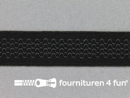 Antislip elastiek 20mm zwart