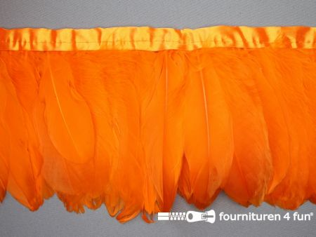 Verenband 160mm oranje