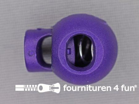 Koord stopper 18mm bal paars
