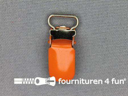 Bretelclips 10mm oranje