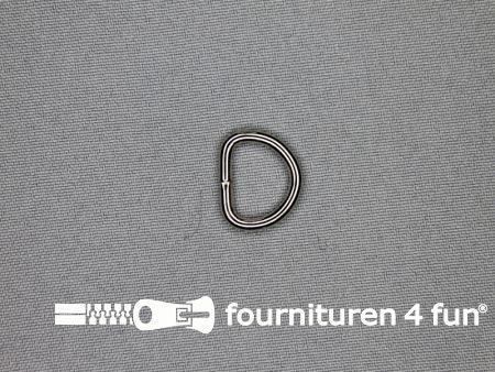Heavy duty D-ringen 16mm vernikkeld