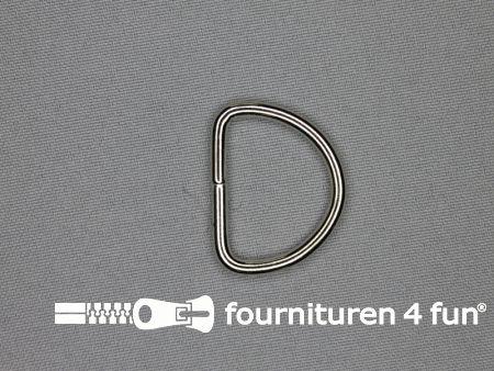 Heavy duty D-ringen 30mm vernikkeld