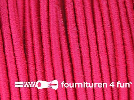 Elastisch koord 2,5mm fuchsia roze