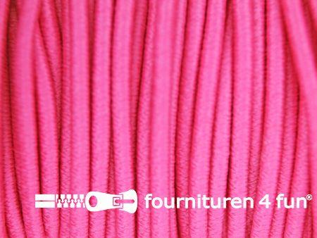 Elastisch koord 2,5mm licht fuchsia roze