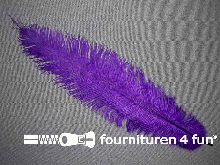 Struisvogelveer 250mm - 300mm paars