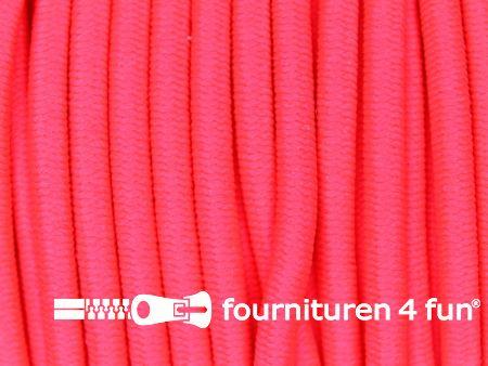 Elastisch koord ca. 3mm neon roze