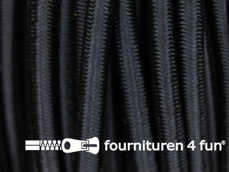 Elastisch koord 4,5mm zwart