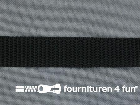 Parachute band 15mm zwart