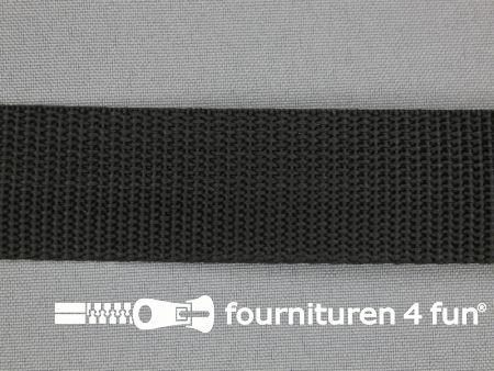 Parachute band 30mm zwart