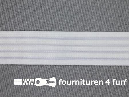 Antislip elastiek 28mm wit