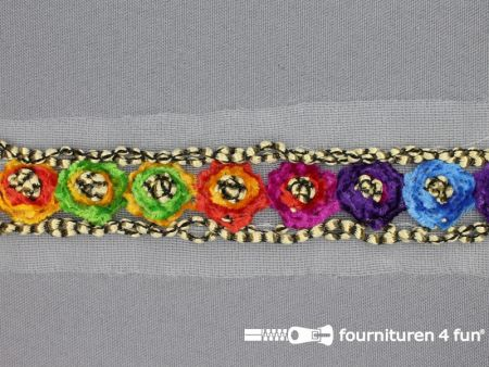 Jacquard band 28mm multicolor