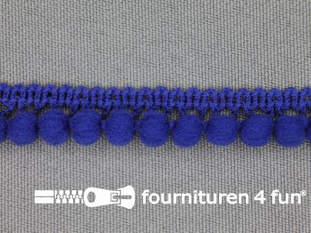 Mini bolletjesband 11mm kobalt blauw