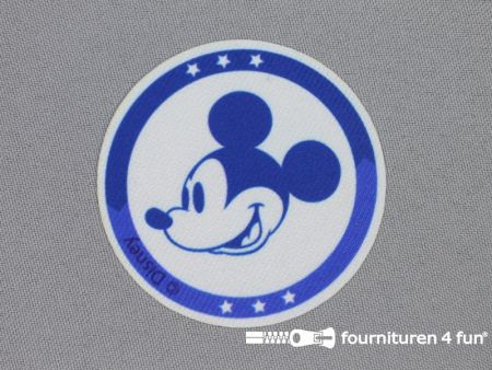 Mickey Mouse applicatie 60mm rond