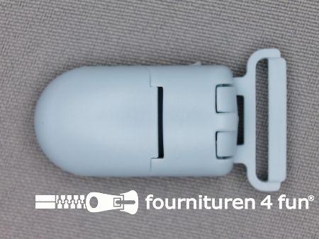 Kunststof clips 20mm baby blauw