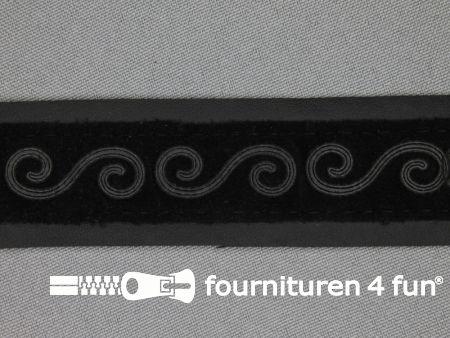 Skai band 30mm zwart