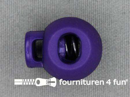 Koord stopper 22mm bal paars