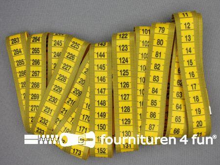 Centimeter 300cm - 120 inches geel - zwart