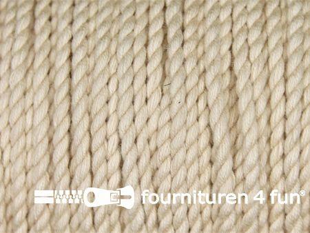 Katoen polyester koord 2,5mm beige