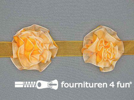 Bloemenkant 60mm geel