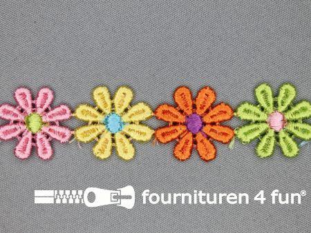 Bloemenkant 27mm multicolor