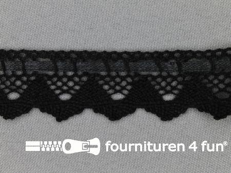 Kloskant 25mm zwart