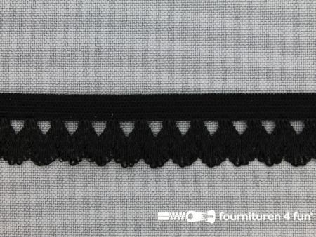Elastisch kant 16mm zwart